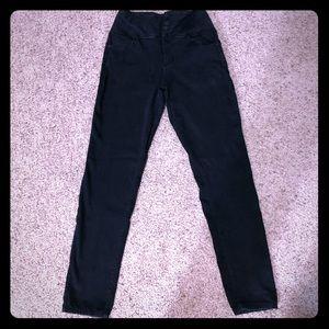 YMI Skinny High Rise Black Jean Leggings